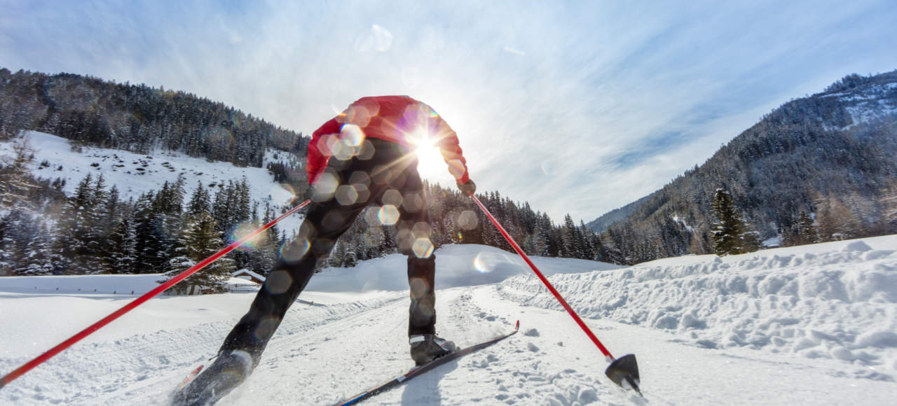 Discover nature while cross-country skiing