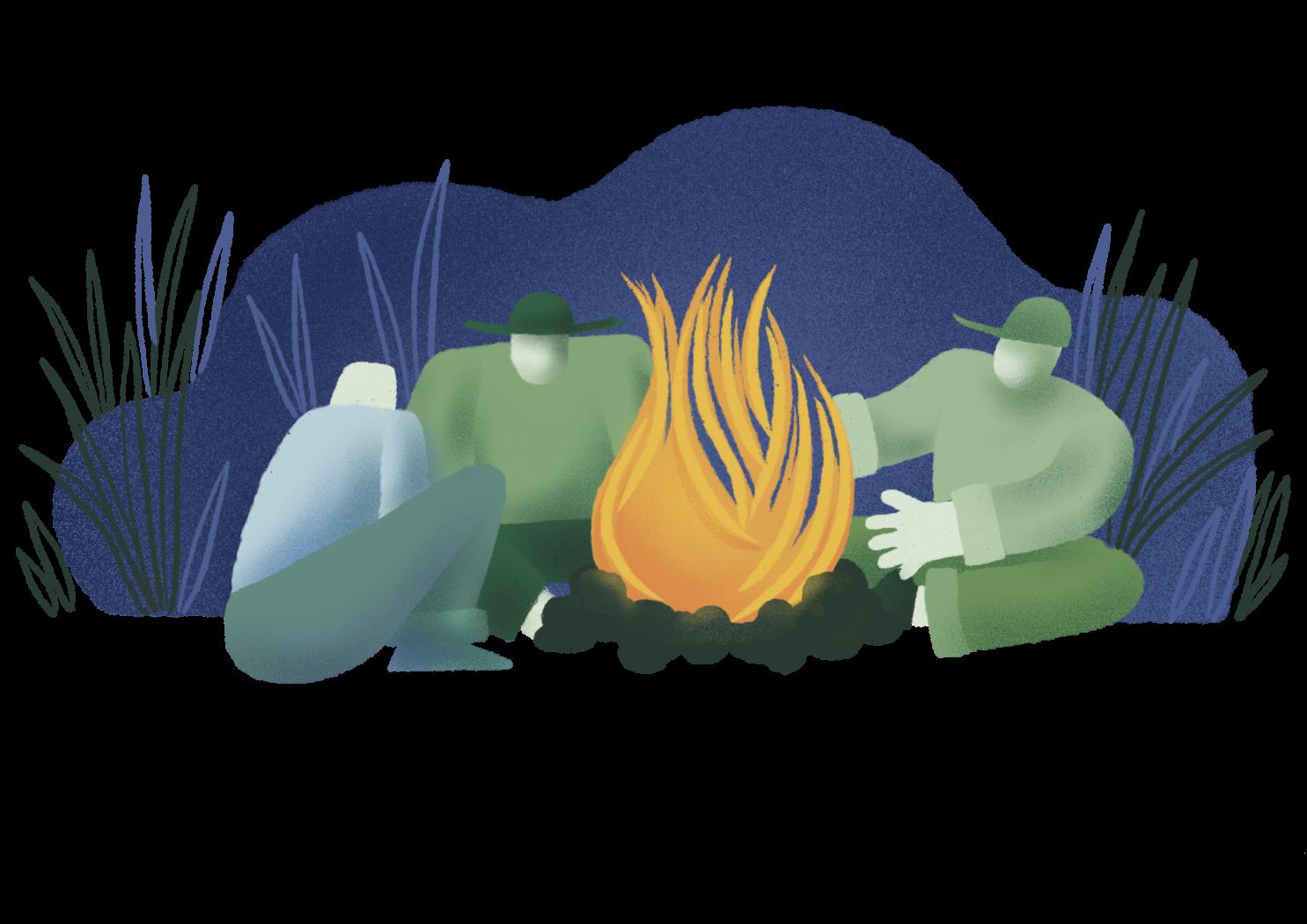 Bonfire hangout